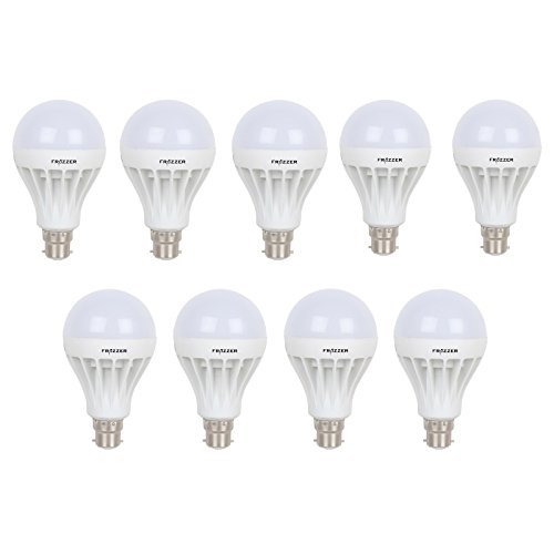 18W White LED Bulbs (Pack Of 9)
