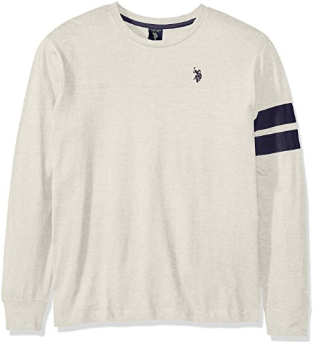 U.S. Polo Assn. Men's Long Sleeve Crew Neck Knit Shirt