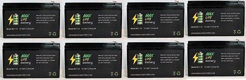 12V 7Ah Sla Battery For City Bug Sit Down Scooter - 8 Pack
