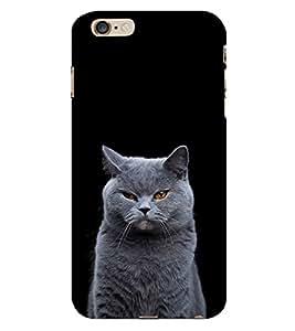 White Cat Design 3D Hard Polycarbonate Designer Back Case Cover for Apple iPhone 6