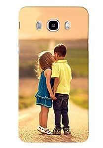 Clarks Printed Designer Back Cover For Samsung Galaxy J7 2016