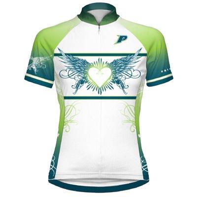 Image of Primal Wear Women's Aphrodite Short Sleeve Cycling Jersey - APHWJ60W (B002UZKA4O)