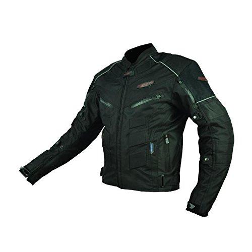 Blouson de Moto Textile Noir Homologué EN13595 - Urban - RiderTec - taille: M