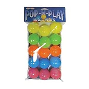 Marshall Pet Products Pop-N-Play Ball Pack