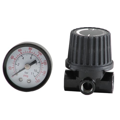 Bostitch BTFP72326 Regulator and Gauge Kit with 1/4-Inch NPT Thread