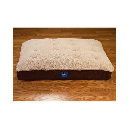 Serta perfect sleeper pillow top pet bed 40 x for Amazon com pillow pets