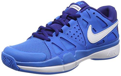 NikeAir Vapor Advantage - Scarpe da Tennis donna , Blu (Blue (414 Blue)), 41 1/3