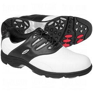 Buy Etonic G>SOK Sof-Flex Golf Shoes White Black Size 8.5M by Etonic