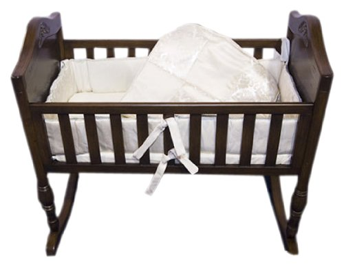 Baby Doll Bedding Gold Sensation Cradle Set, Gold