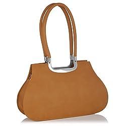 Fostelo Women's Handbag Orange (FSB-433)