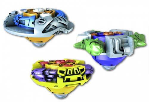 Mega Bloks Magnext Battle Strikers Turbo Tops - Wolfen