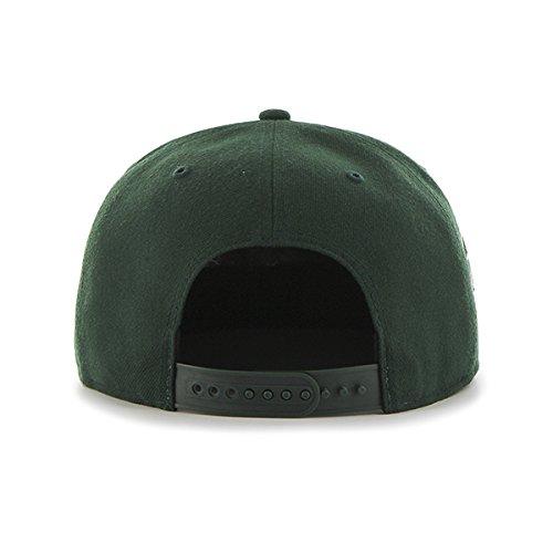 47-Erwachsene-Kappe-MLB-Oakland-Athletics-Sure-Shot-Captain-Dark-Green-OSFA-B-SRS18WBP-DG