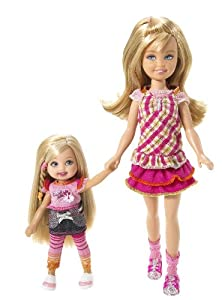 Amazon.com: Barbie Camping Family Stacie & Kelly Dolls: Toys & Games