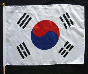 世界の国旗 韓国