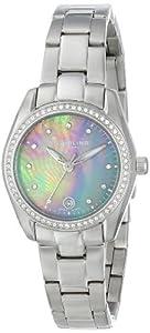 Stuhrling Original Women's 811.03 Vogue Salida Del Sol Analog Display Swiss Quartz Silver Watch