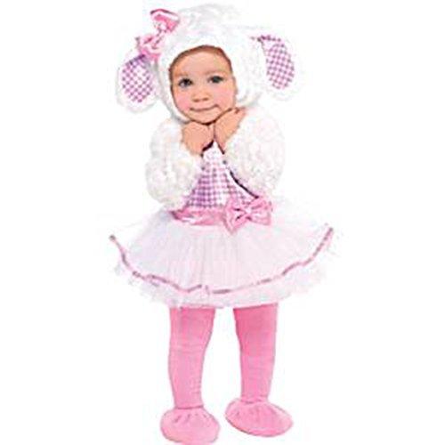 [Little Lamb Babys Girls Fancy Dress Up Costumes Halloween Birthdays Animal Infants New Fun {6-12 Months} by] (Baby Lamb Halloween Costumes)
