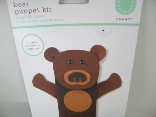 Bear Puppet Kit - 1