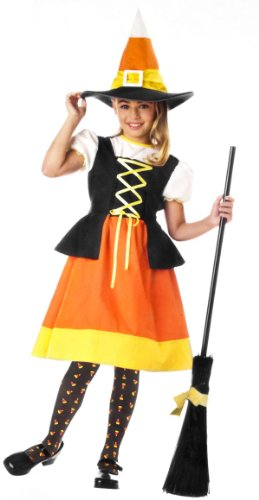 California Costume Child Sweet Candy Witch Costume (Broom/Shoes Not Included)