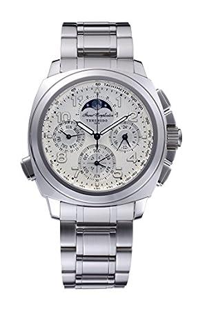 [グランドコンプリケーション・スポーツ・白文字盤・ステンレスベルト]Grand Complication Sports・White・SS Bracelet 腕時計 クォーツ GCS02SS メンズ