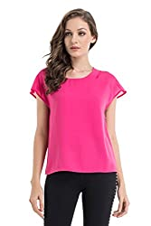 Kazo Women's Body Blouse Top (109127CRMNRSxl)