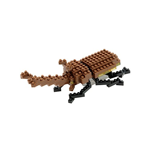 Nanoblock Rhinoceros Beetle Building Kit