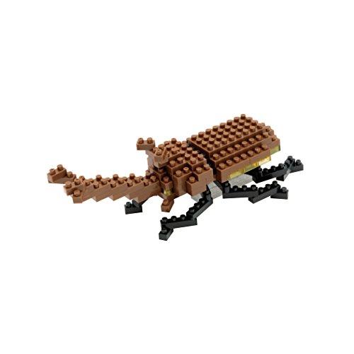 Nanoblock Rhinoceros Beetle Building Kit