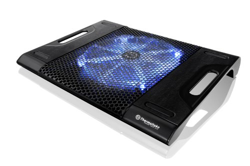 Cheap Thermaltake Massive23 LX Laptop Notebook Cooler Oversized 230mm Blue LED Fan USB CLN0015