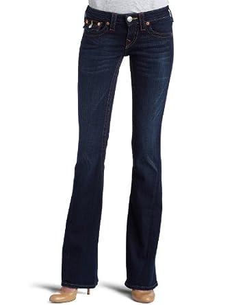 True Religion Women's Joey Flare Jeans,Pony Express,23
