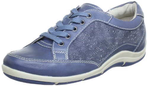 Jana Jana Fashion Lace-Ups Women blue Blau (DENIM 802) Size: 6 (39 EU)