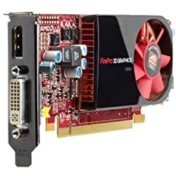 512MB HP ATI FirePro V3800 PCI Express 2.0 X16 DDR III DVI-I/DisplayPort WL048AA