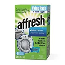 Affresh Washer Machine Cleaner, 6-Tablets, 8.4 oz