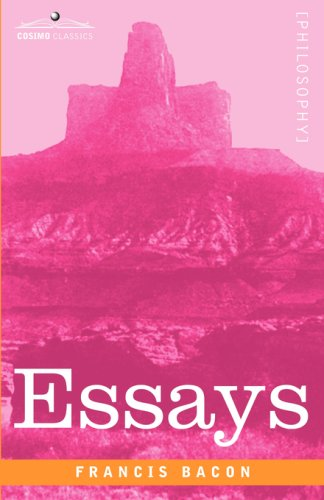 essay on anger by bacon Of envy – francis bacon 4 of anger bacon expressed his philosophical views about managing the undesired human characters in the essays bacon is forever.