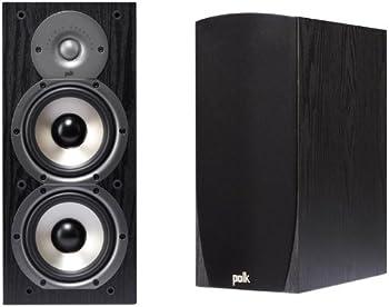 Polk Audio Monitor 45B 2-Way Speakers Pair