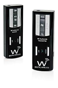 Wi Digital Wi AudioLink Pocket Portable Stereo Digital Musical Instrument Wireless System