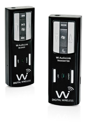 Wi Digital Wi AudioLink Pocket Portable Stereo Digital Musical Instrument Wireless System