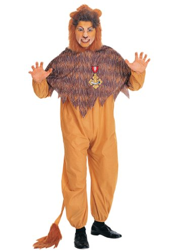 Rubies Mens Cowardly Lion The Wizard Of Oz Theme Party Fancy Costume