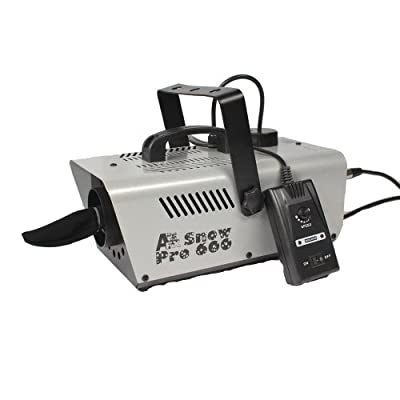 Froggys Fog - Pro Snow Machine - Completely Variable Output - 600 Watt from Froggys Fog