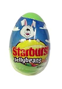 Starburst Jellybeans Easter Candy Egg-1 piece
