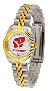 Wisconsin Badgers Ladies Executive Watch