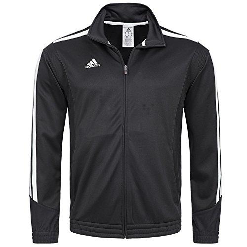 Felpa da allenamento da uomo adidas Performance E KIT 2,5 giacca Nero nero XLT