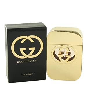 Gucci Guilty by Gucci, Eau De Toilette Spray 2.5 oz, Women