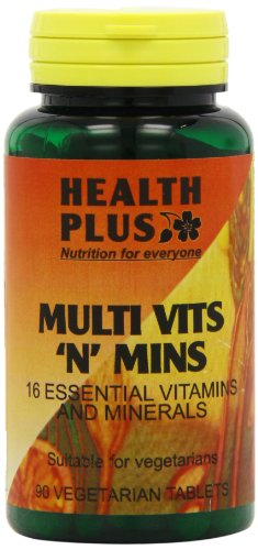Health Plus Multi Vits 'n' Mins One-a-day Multivitamin Supplement - 90 Tablets