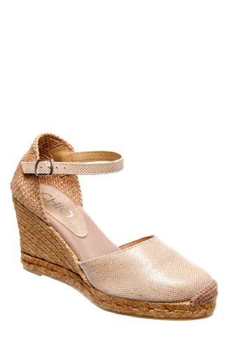 CHIO Ad776 High Heel Espadrille Wedge Sandal