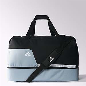 adidas Rucksäcke Tiro Fußballtasche, Black/Silver/White, 70 x 32 x 25 cm, 55 Liter, Z35669