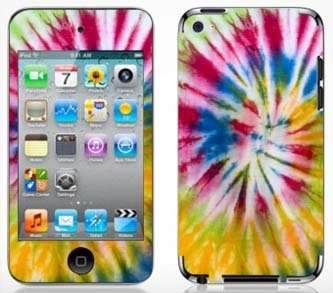 Tie Dye Skin for Apple iPod Touch 4G 4th Generation