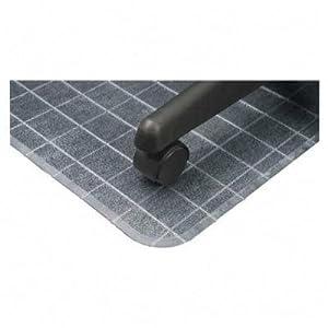 DEFCM83443F Deflect O DuraMat Checkered Chair Mat Carpet Cha