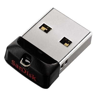 SanDisk Cruzer Fit 32GB USB Pen Drive (Black)