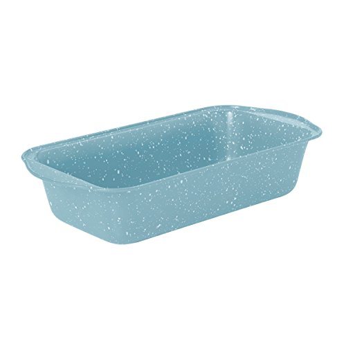 "Baker's Advantage Non Stick Loaf Pan, Carbon Steel, 0.4mm/9"" by 5"", Blue"