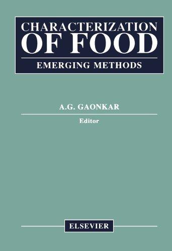 Characterization Of Food: Emerging Methods