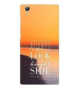 EPICCASE Bright side Mobile Back Case Cover For Vivo Y51 (Designer Case)